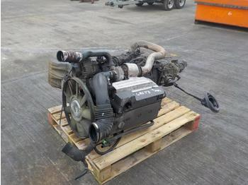 Mercedes 4 Cylinder Engine, Gear Box - motor