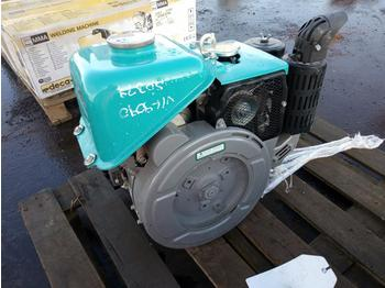 Unused Kubota 1 Cylinder Diesel Engine - motor