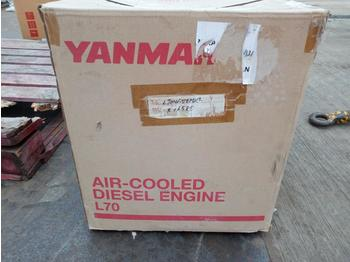 Unused Yanmar 1 Cylinder Diesel Engine - motor
